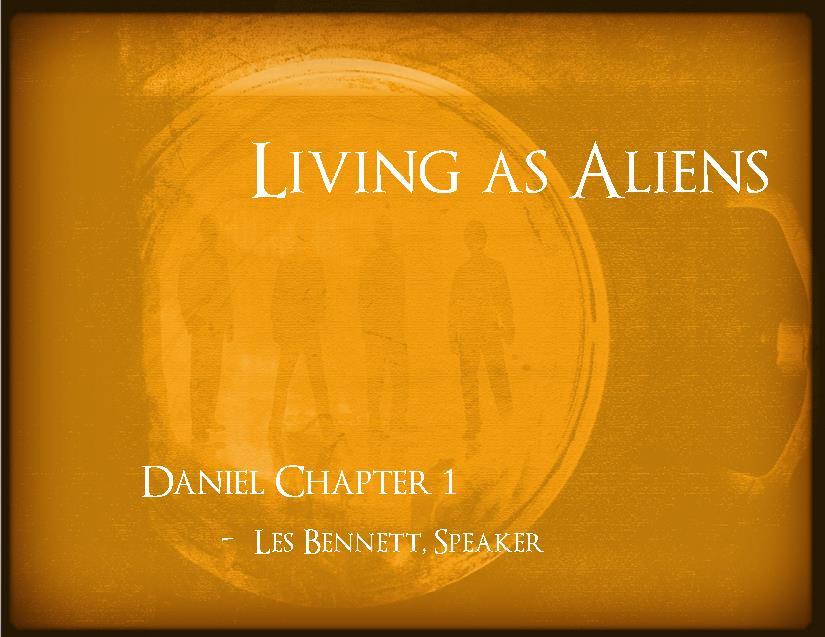 Living As Aliens