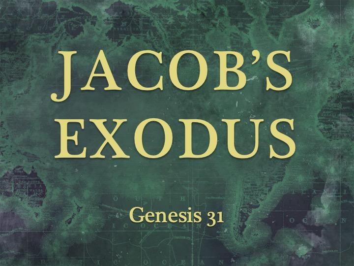Jacob's Exodus