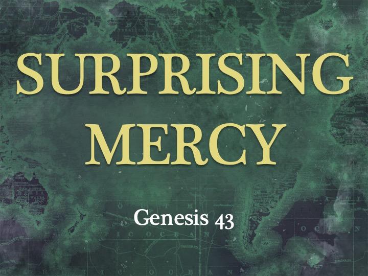 Surprising Mercy