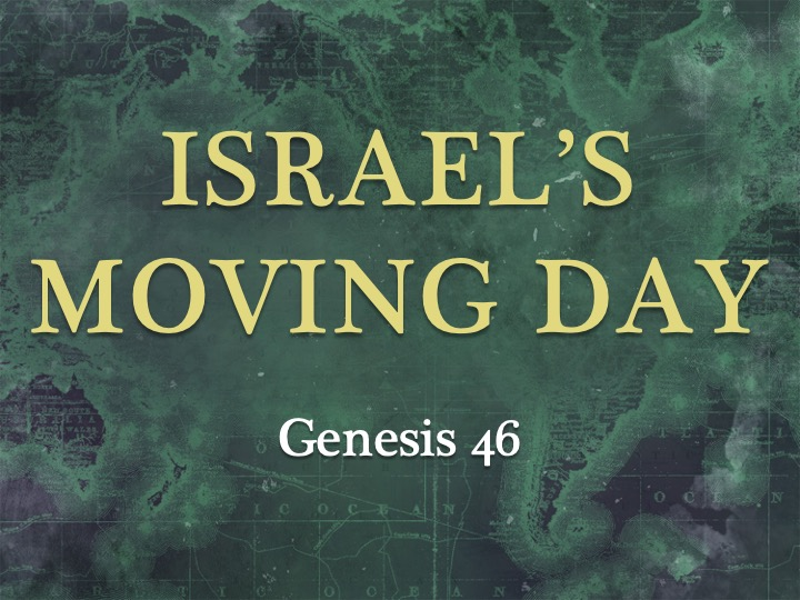 Israel's Moving Day