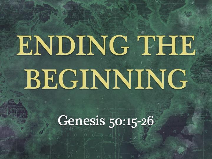 Ending the Beginning