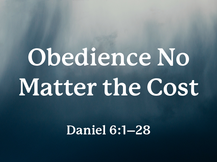 Obedience No Matter The Cost