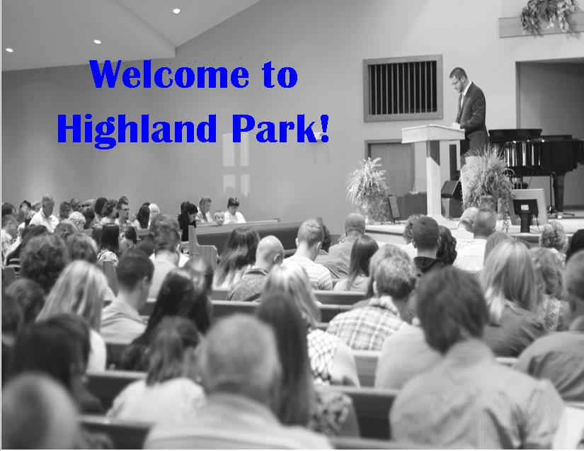 Welcome to Highland Park!