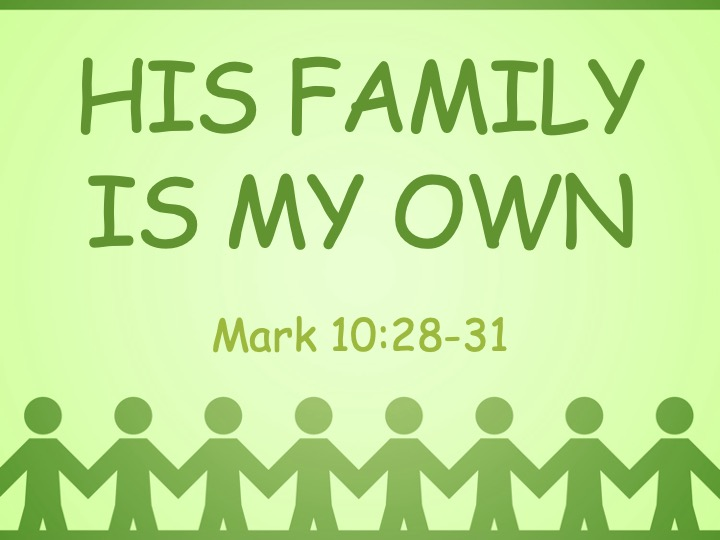 His Family is My Own